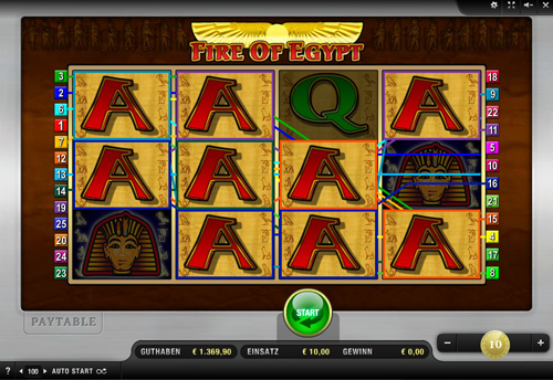 fire of egypt online slot im sunmaker casino