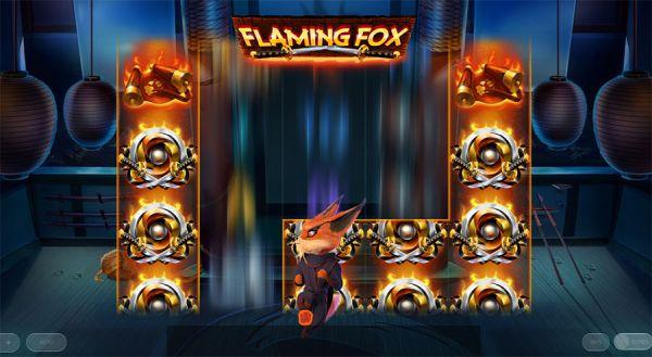 Flaming Fox Slot Vorschau