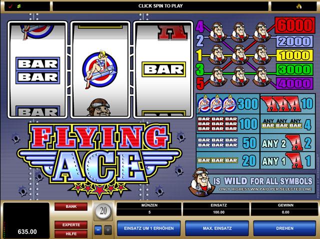 Flying Ace Online Slot