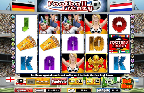 online slot football frenzy im intercasino