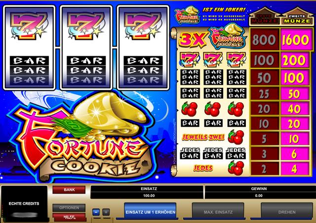 Fortune Cookie Vorschau