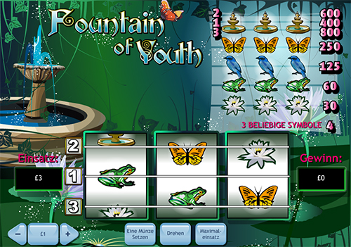 online slot fountain of youth im william hill