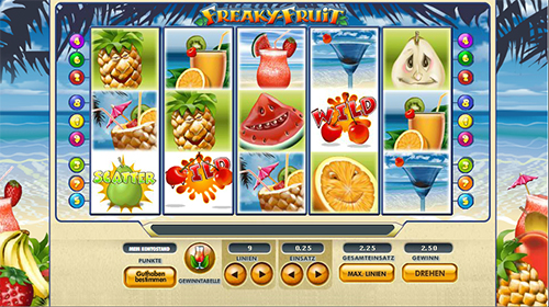 online slot freaky fruit im 888 casino