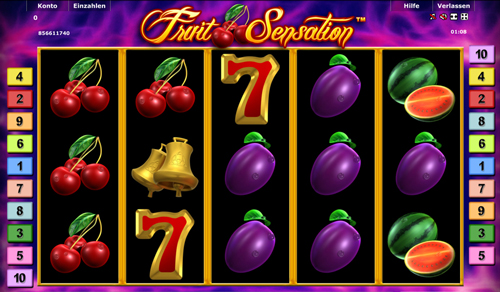 online slot fruit sensation im stargames casino