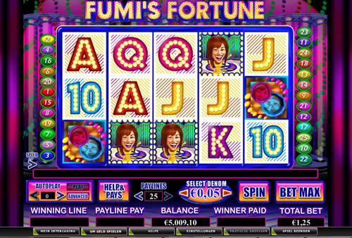online slot fumis fortune im intercasino