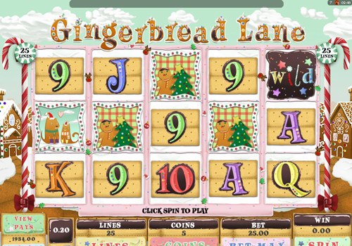 gingerbread-lane online slot