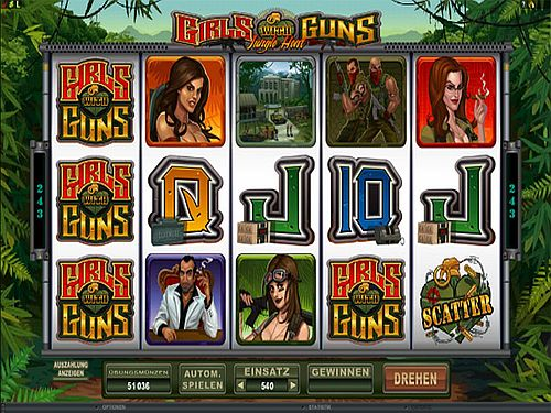 Girls with Guns Microgaming
