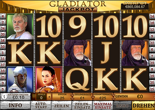 gladiator online slot im william hill