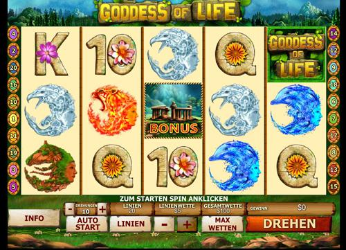 goddess-of-life online slot