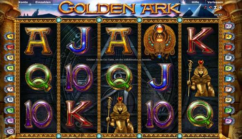 novoline slot golden ark im stargames casino
