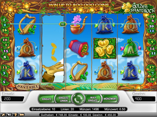 golden shamrock online Slot im Mr Green Casino