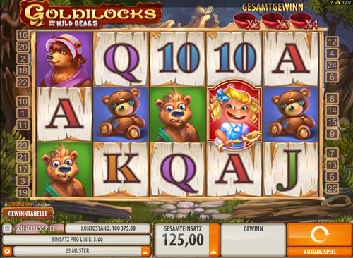 goldilocks-and-the-wild-bears online slot
