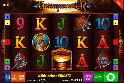 Great Warrior Slot Vorschau