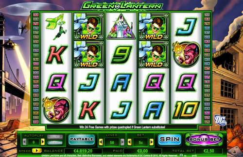 online slot green lantern im inter casino