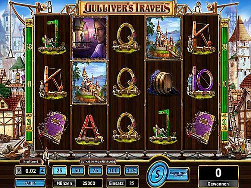 Gullivers Travels Spielautomat