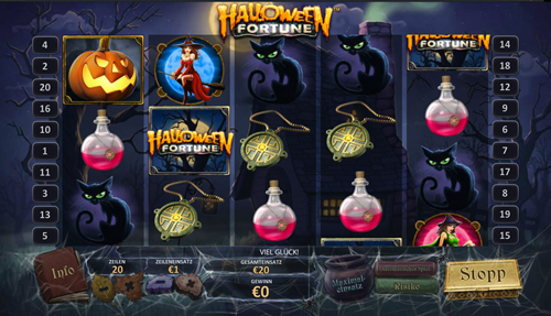 halloween-fortune online slot