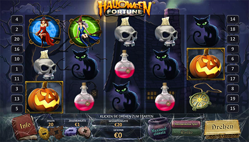 halloween fortune online slot im eurogrand casino