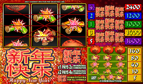 happy-new-year online slot