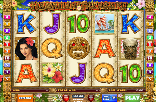 hawaiian-treasure online slot