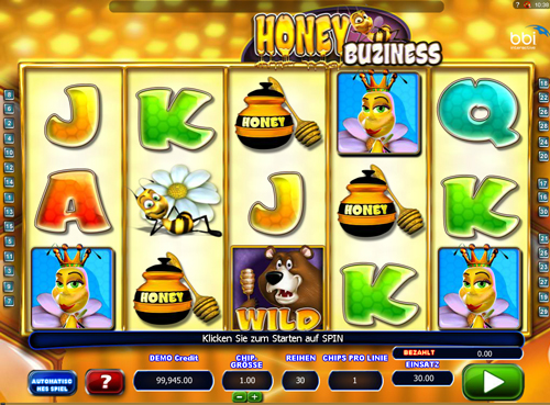 honey-buziness online slot