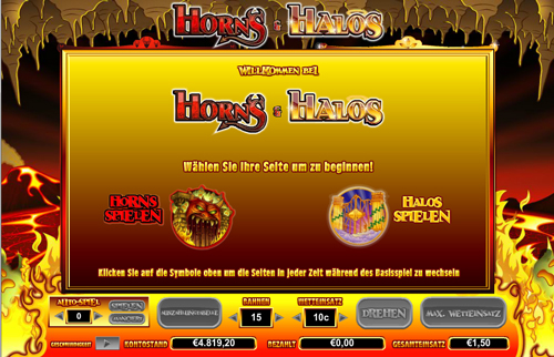 online slot horns and halos im intercasino