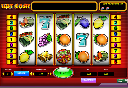 online slot hot cash im 888 casino