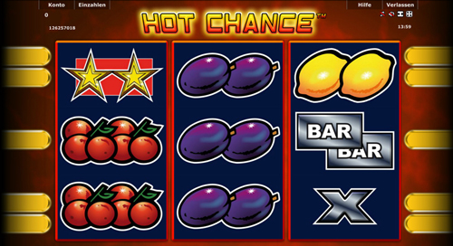 novoline slot hot chance im stargames casino