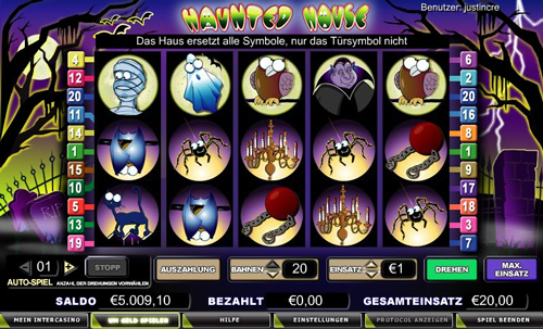 online slot hounted house im intercasino