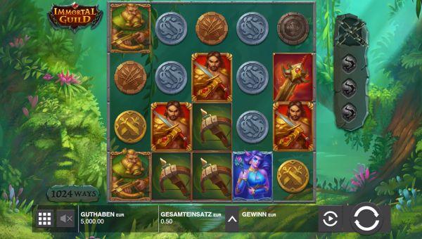Immortal Guild Slot Vorschau