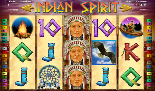 swiss casino online indian spirit