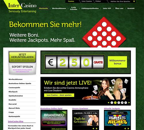 das online casino intercasino
