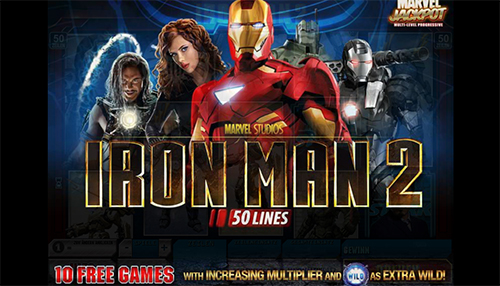 marvel online slot iron man im eurogrand casino
