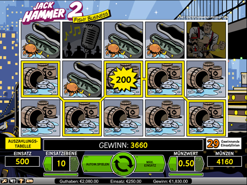 Spiele den Jack Hammer 2 Slot bei Casumo.com