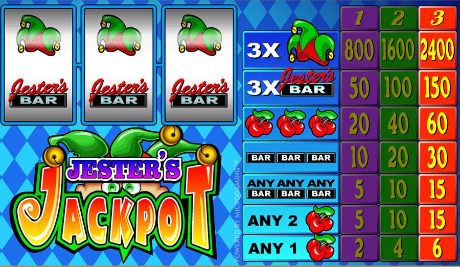 Jesters Jackpot Online Slot