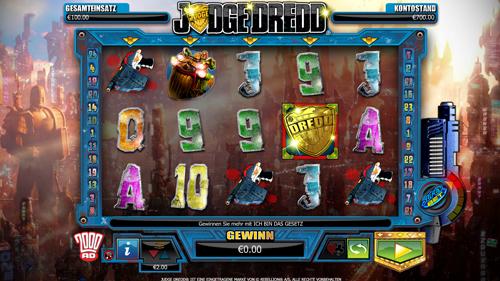 Spiele Judge Dredd - Video Slots Online