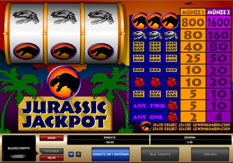 Jurassic Jackpot Online Slot