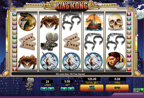 online slot king kong im 888 casino