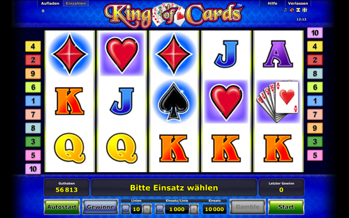 slot spiele online king of cards