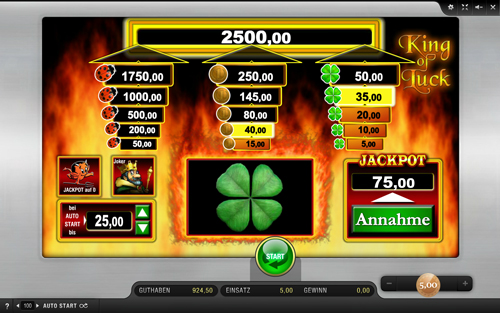 king-of-luck online slot