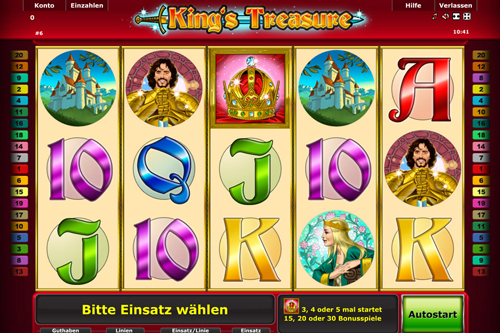 online slot kings treasure im stargemas casino