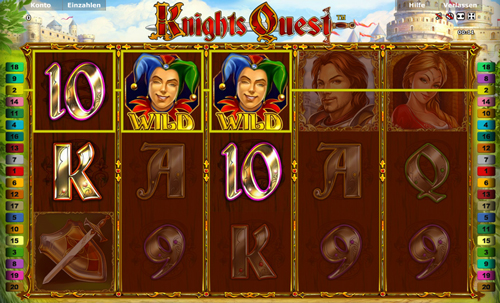 online slot knights quest im stargames casino