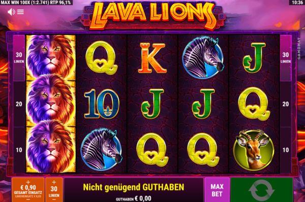 Lava Lions Vorschau