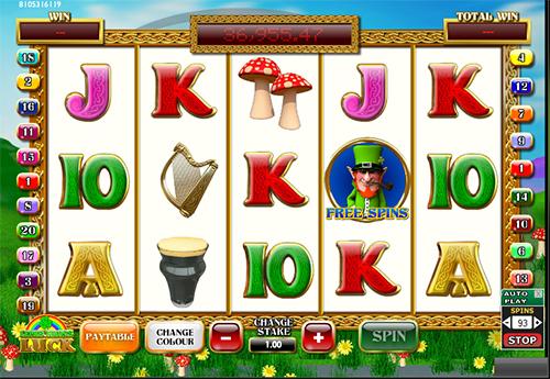 online slot lebrechauns luck im 888 casino