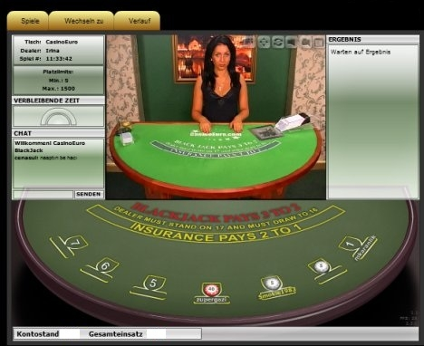 Live Casino - Blackjack