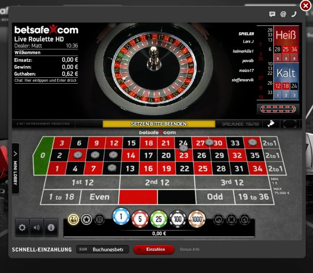 Live Roulette | Spinit