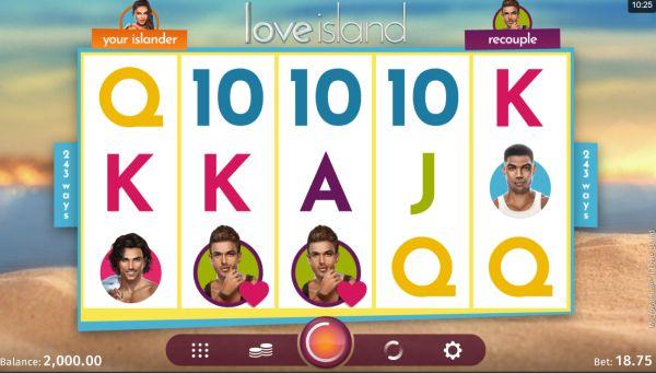 Love Island Spielautomat Vorschau