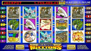 Major Millions Progressive Online Slot