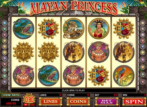 mayan-princess online slot