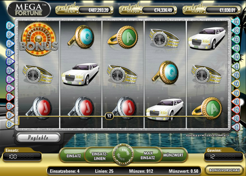 mega fortune online slot im mr green casino