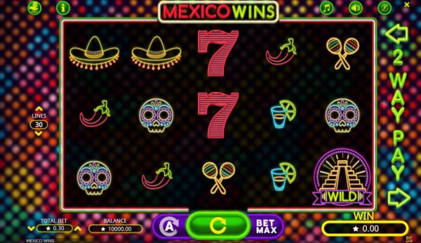 Mexico Wins Spielautomat